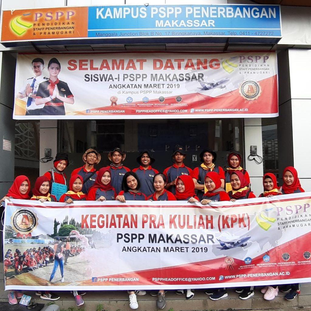 foto pspp makassar angkatan maret 2019