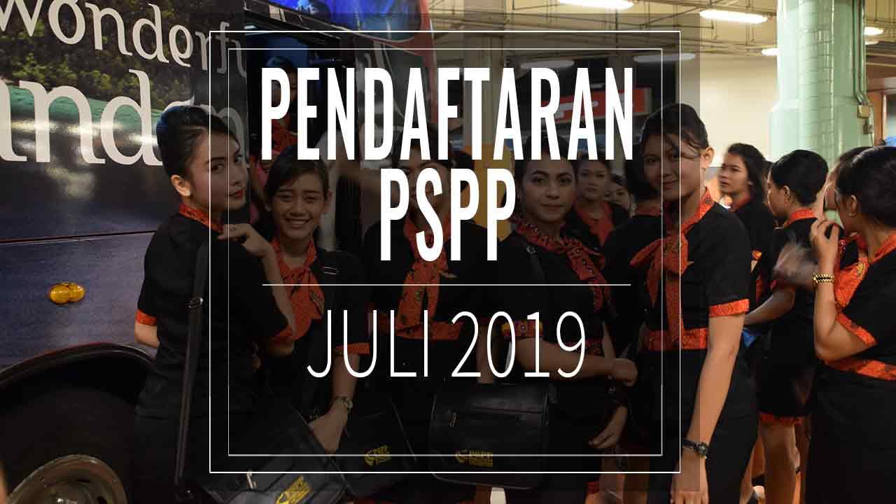 pendaftaran pspp juli 2019