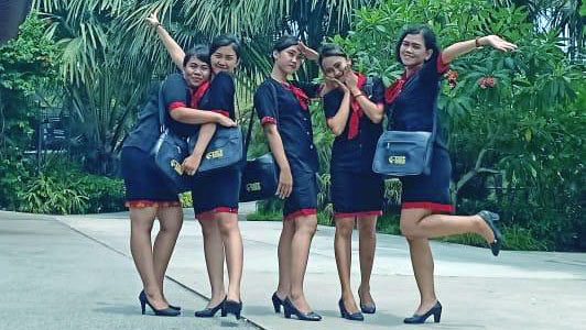 foto pendaftaran pspp penerbangan