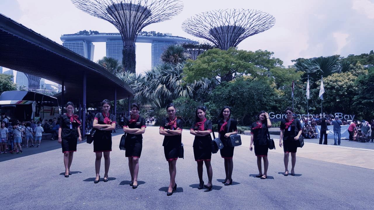 pspp penerbangan pramugari di singapura